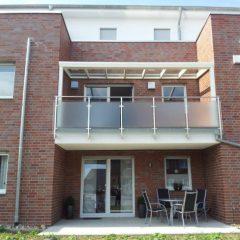 Top line Quality de luxe gemonteerd op balkon